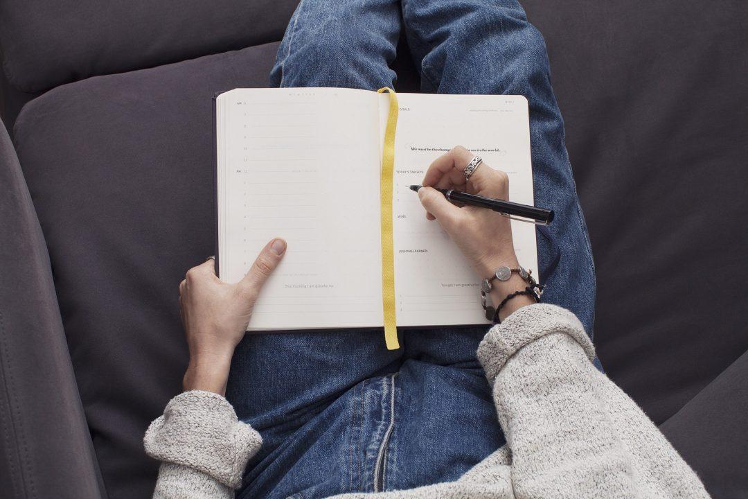 escribir en un diario